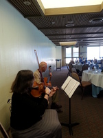 Skyline Strings and Guitar Trio at Marin reception