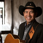 john Arthur martinez promo shot at Smitty's BBQ in Lockhart, TX.